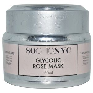 Glycolic Rose Face Mask-By SO CHIC NYC